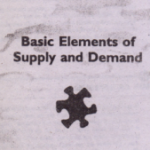 Basic Elements of Supply and Demand