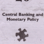 Central Banking and Monetary Policy