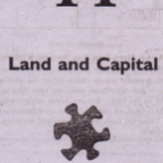 Land and Capital