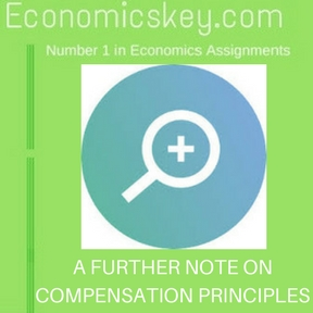 A FURTHER NOTE ON COMPENSATION PRINCIPLES