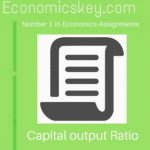 Capital output Ratio