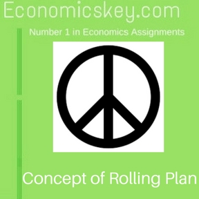 Concept of Rolling Plan