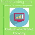 Features of a Planned Economy