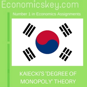 KAlECKi'S 'DEGREE OF MONOPOLY' THEORY