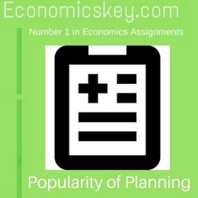 Popularity of Planning
