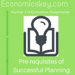 Pre-requisites of Successful Planning