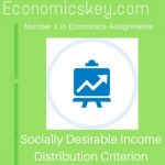 Socially Desirable Income Distribution Criterion