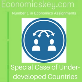 Special Case of Under-developed Countries
