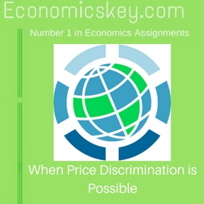 When Price Discrimination is Possible