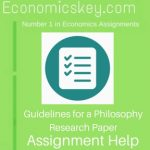 Guidelines for a Philosophy Research Paper