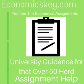 University Guidance for that Over 50 Herd Assignment help