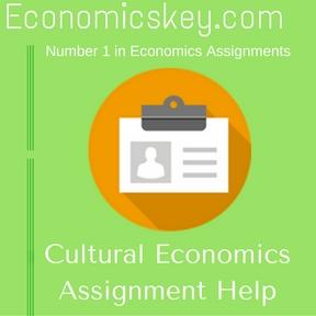 Cultural Economics Assignment Help