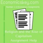 Religion and the Rise of Capitalism Assignment Help