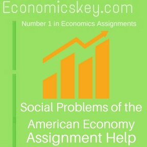 Social Problems of the American Economy Assignment help
