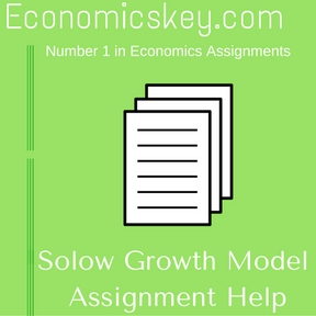 Solow Growth Model Assignment Help