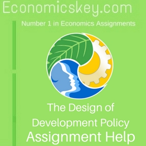 The Design of Development Policy Assignment help
