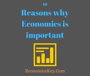 10 Reasons why Economics is important